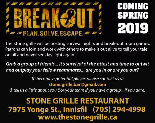 breakout event