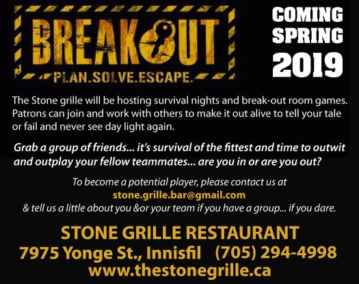 breakout event
