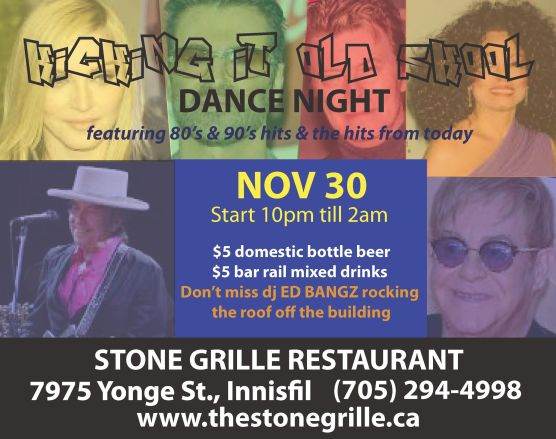 dance night nov 30 full poster