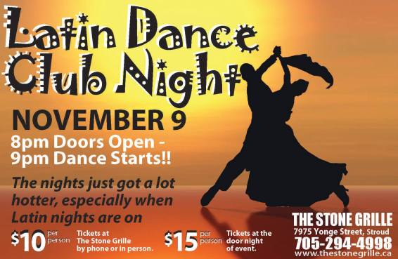 latin dancing nov 9 full poster